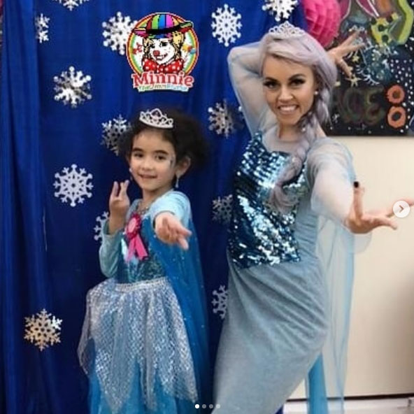 Elsa Frozen children's entertainer