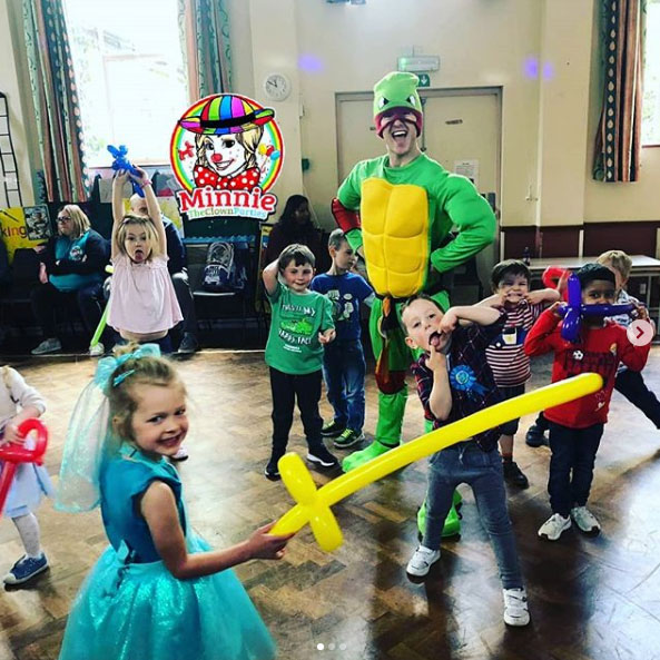 Ninja Turtle Party Entertainer