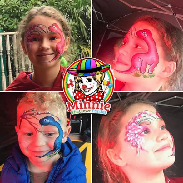 face painter for children's party and events