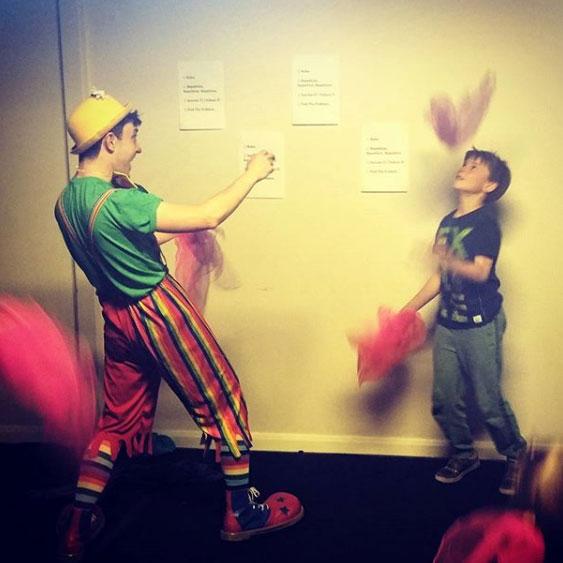Hire a juggler