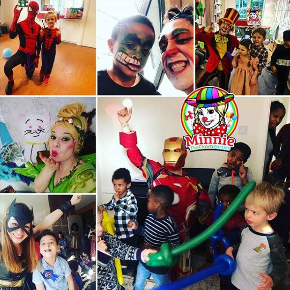 superhero party entertainer