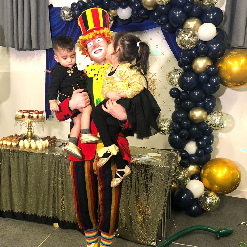 Clown children's party entertainer