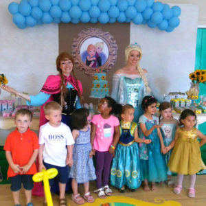 Elsa and Anna Frozen Party Entertainers