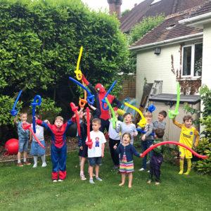 Superhero Party London