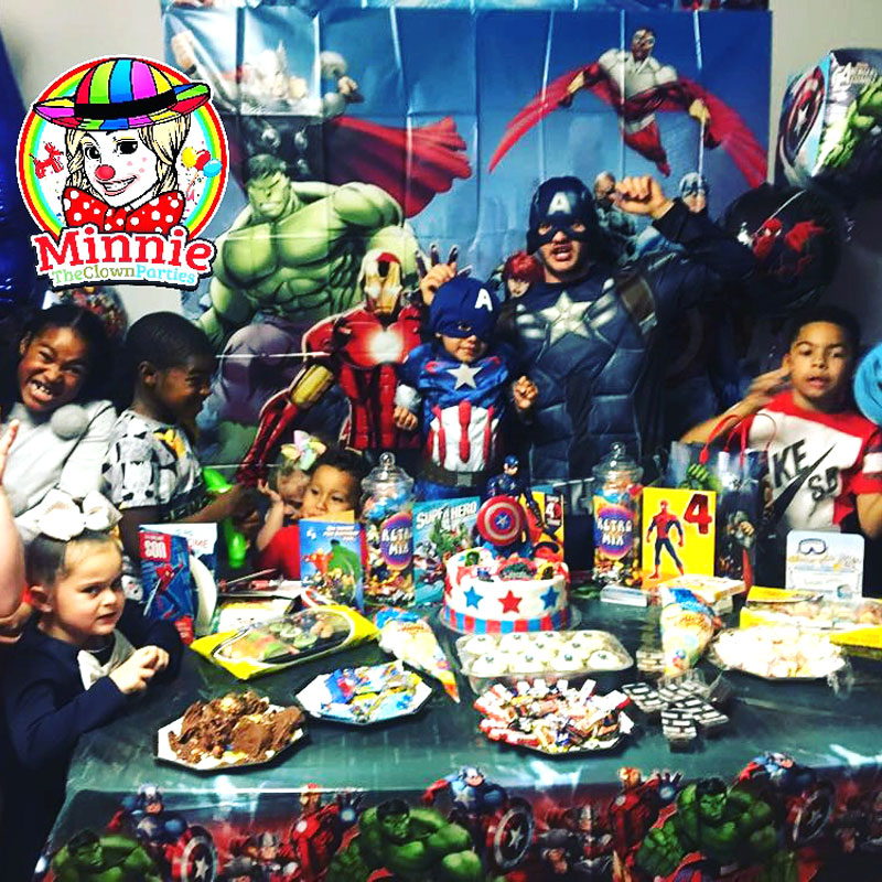 marvel themed party