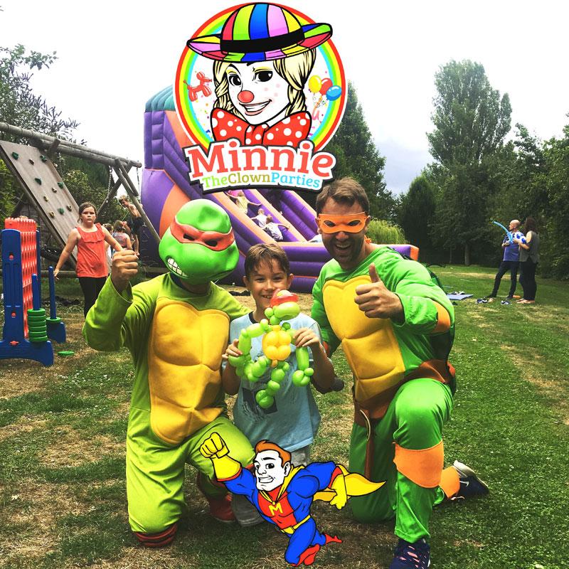 Children's entertainer - ninja turtles