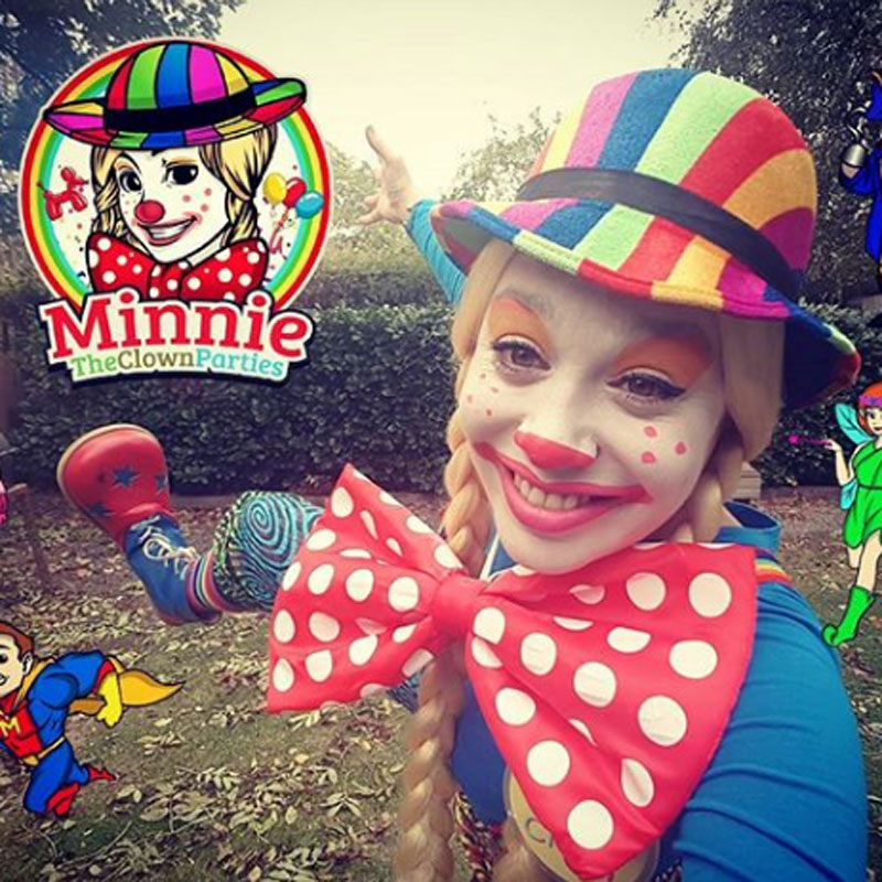 Minnie the clown parties