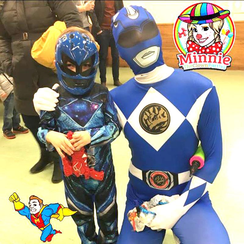 Children's entertainer - power rangers