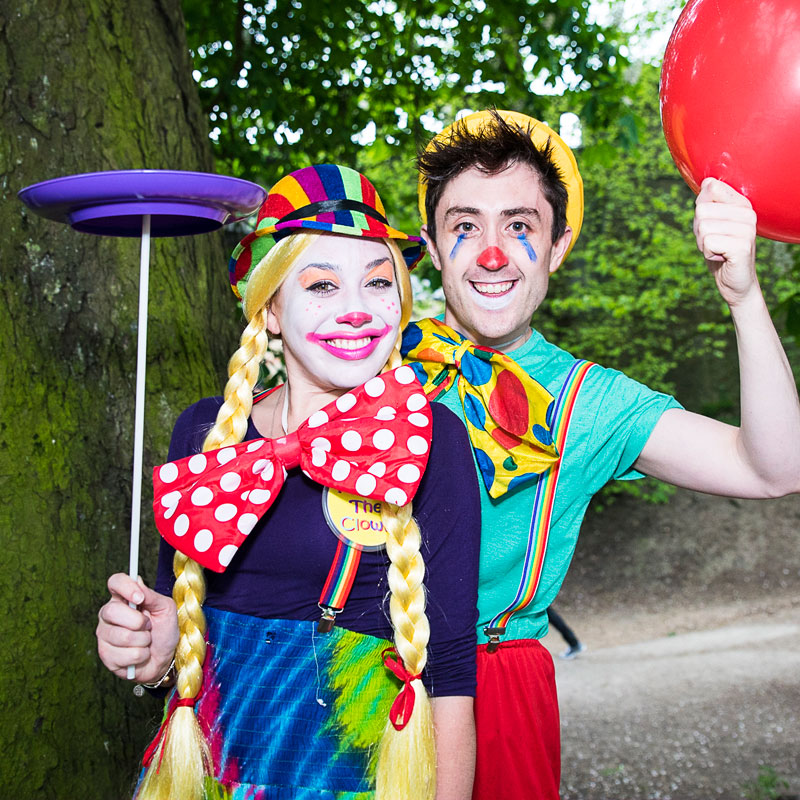 Clown party - children's entertainers