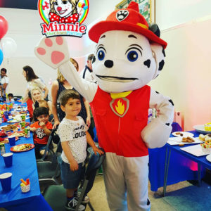 Marshall Paw Patrol Look a like mascot for hire
