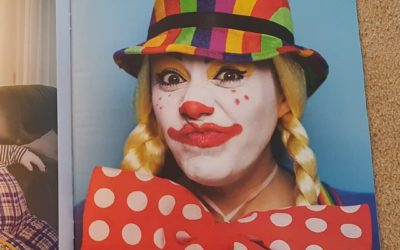 Minnie The Clown Featured in The Observer Magazine in The Guardian Newspaper