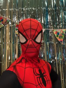 Spiderman Entertainer Superhero