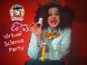 Virtual Science Party Entertainer