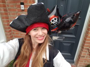 Social Distancing Children's Pirate Entertainer