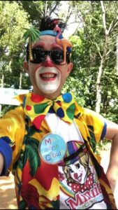 Social Distancing Children's Clown Entertainer