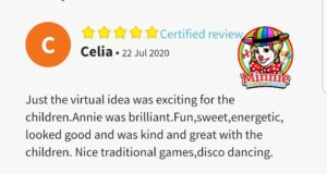 Review for Virtual Party Entertainer