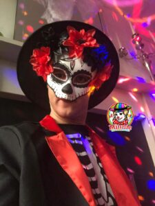 Halloween Entertainer - Day Of The Dead Character