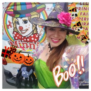 Halloween Witch Trick Or Treating Entertainer