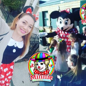 Minne Mouse Entertainer and Minnie Mouse Mascot Visits