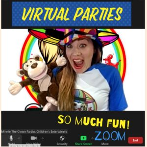 Zoom Virtual Party Entertainer