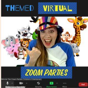 Virtual Birthday Party Entertainer