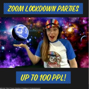 Zoom Birthday Party Children's Entertainer