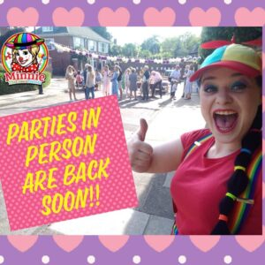 Children's Entertainers for Garden Parties are back soon