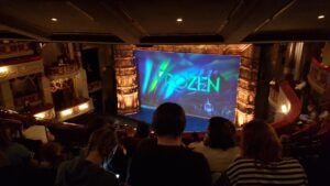 Frozen Musical Tickets Seating For Kids